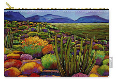 Organ Pipe Carry-all Pouch by Johnathan Harris
