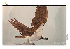 Carry-all Pouch featuring the painting Osprey by Donald Paczynski