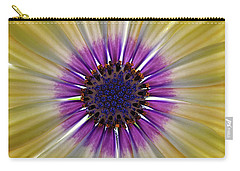 Osteospermum The Cape Daisy Carry-all Pouch by Shirley Mitchell