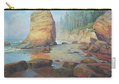 Otter Rock Beach Carry-all Pouch