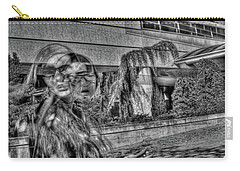 Carry-all Pouch featuring the photograph Out Of Phase 2 by Andy Lawless