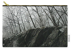 Carry-all Pouch featuring the photograph Out Of The Rocks by Ellen Levinson