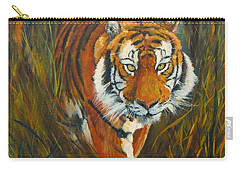 Carry-all Pouch featuring the painting Out Of The Woods by Beatrice Cloake