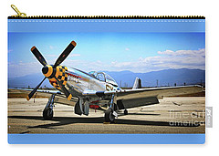 P-51 Mustang Kimberley Kaye Carry-all Pouch