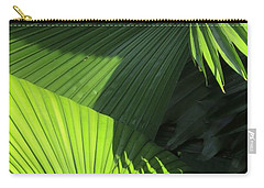 Palm Patterns Carry-all Pouch