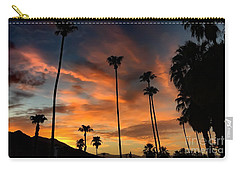 Carry-all Pouch featuring the photograph Palm Springs by Chris Tarpening