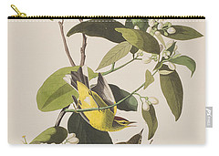 Palm Warbler Carry-all Pouch by John James Audubon