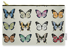 Papillon Carry-all Pouch by Sarah Hough