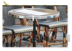 Parisian Cafe Terrace Carry-all Pouch