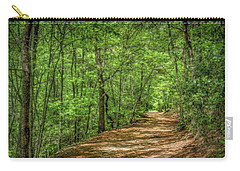 Path Less Travelled - Impressionist Carry-all Pouch