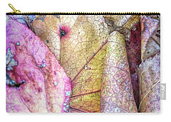Patterns From Leaves Carry-all Pouch by Todd Breitling