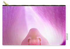 Phalaenopsis Orchid Carry-all Pouch by George Robinson