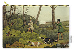 Pheasant Shooting Carry-all Pouch by Henry Thomas Alken