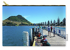 Pilot Bay Beach 8 - Mount Maunganui Tauranga New Zealand Carry-all Pouch