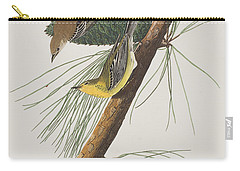 Pine Creeping Warbler Carry-all Pouch