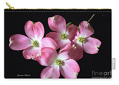 Pink Dogwood Branch Carry-all Pouch