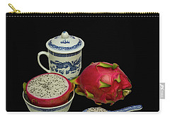 Carry-all Pouch featuring the photograph Pink Dragon Fruit  by David French