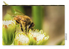 Pollen Collector  Carry-all Pouch by Jay Stockhaus