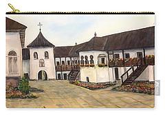 Polovragi Monastery - Romania Carry-all Pouch by Dorothy Maier