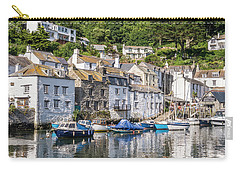 Polperro, Cornwall Carry-all Pouch by Hazy Apple