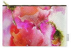 Poppy Garden Carry-all Pouch by Linde Townsend