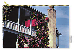 Porch In Bloom Carry-all Pouch