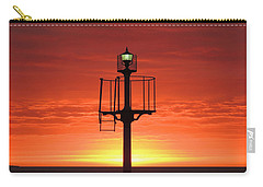 Carry-all Pouch featuring the photograph Port Hughes Lookout by Linda Hollis