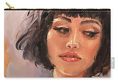 Portrait Demo Four Carry-all Pouch