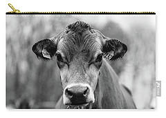 Portrait Of A Dairy Cow In The Rain Stowe Vermont Carry-all Pouch