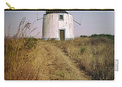 Carry-all Pouch featuring the photograph Portuguese Windmill by Carlos Caetano