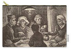 Potato Eaters, 1885 Carry-all Pouch by Vincent Van Gogh