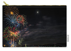 Poughkeepsie Fireworks Image Six Carry-all Pouch