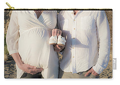 Carry-all Pouch featuring the photograph Powell Maternity by T Brian Jones