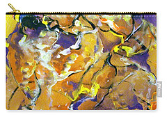 Carry-all Pouch featuring the painting Praise Dance by Raymond Doward