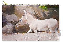Carry-all Pouch featuring the painting Prance by Judy Kay
