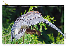 Preening Carry-all Pouch by Kenneth Albin
