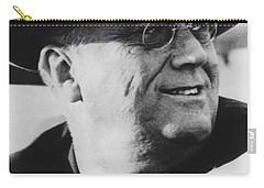 Carry-all Pouch featuring the photograph President Franklin Roosevelt by War Is Hell Store