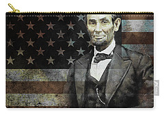 President Lincoln  Carry-all Pouch by Gull G