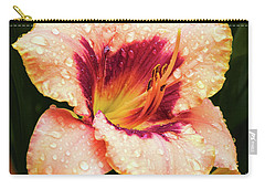 Carry-all Pouch featuring the photograph Pretty Flower by Elvira Ladocki