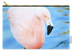 Pretty In Pink Carry-all Pouch by Shoal Hollingsworth