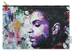 Carry-all Pouch featuring the painting Prince by Richard Day