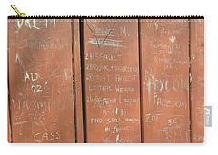 Prison Graffiti Carry-all Pouch
