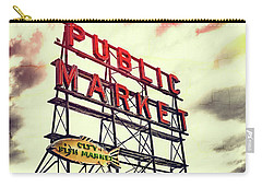 Public Market Carry-all Pouch by Susan Stone