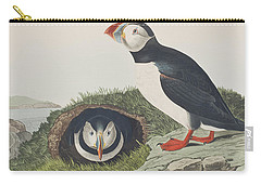 Puffin Carry-all Pouch by John James Audubon