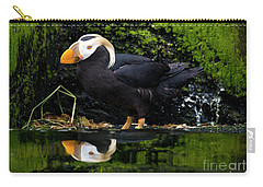 Puffin Reflected Carry-all Pouch