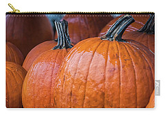 Pumpkins In Rain Carry-all Pouch