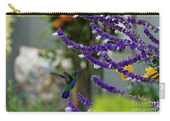 Carry-all Pouch featuring the photograph Purple Pleasure by John Kolenberg