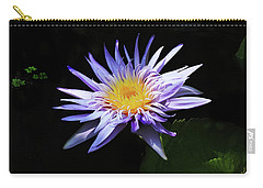 Purple Water Lily Carry-all Pouch