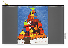 Pyramid Of African Drummers Carry-all Pouch