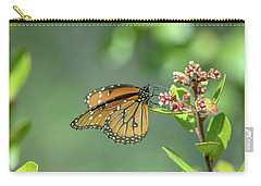Queen Butterfly Carry-all Pouch by Tam Ryan
